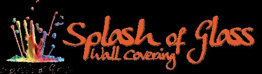 A Splash of Glass Sticky Logo
